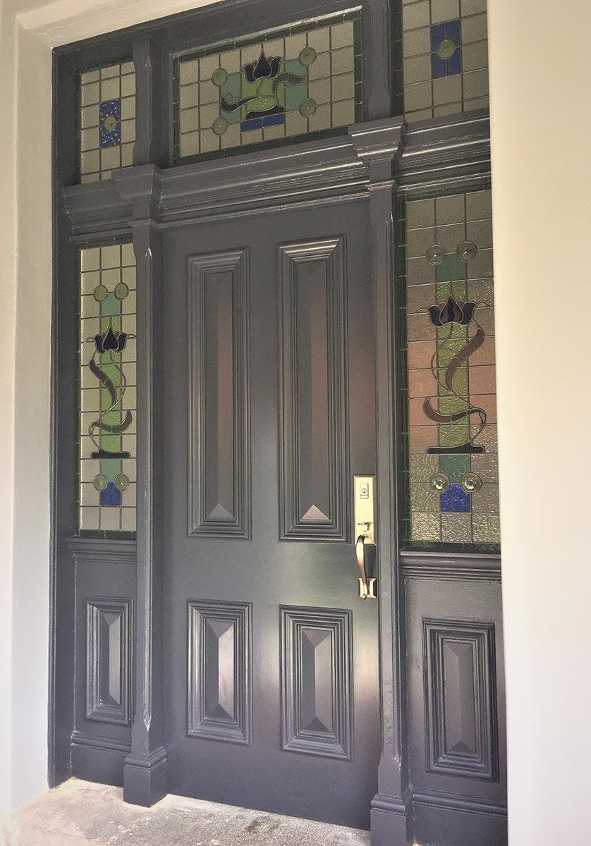 leadlight door design