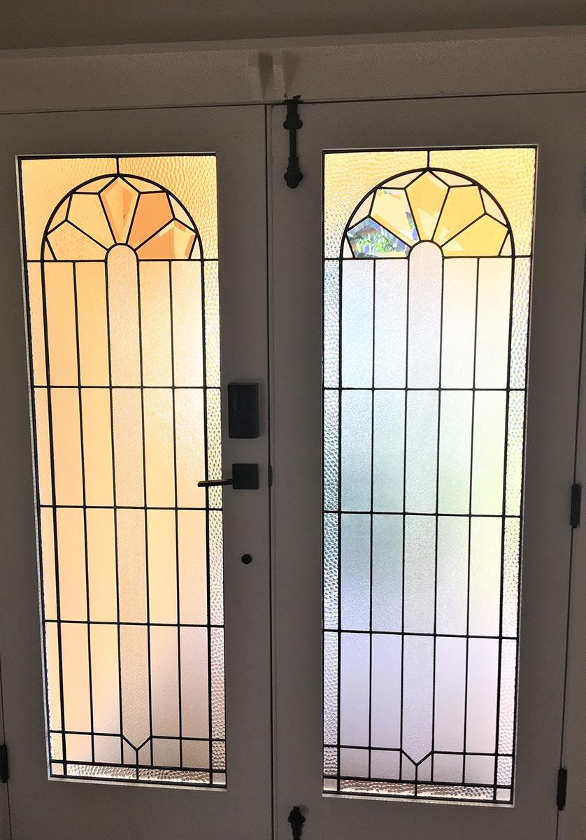 leadlight front doors image