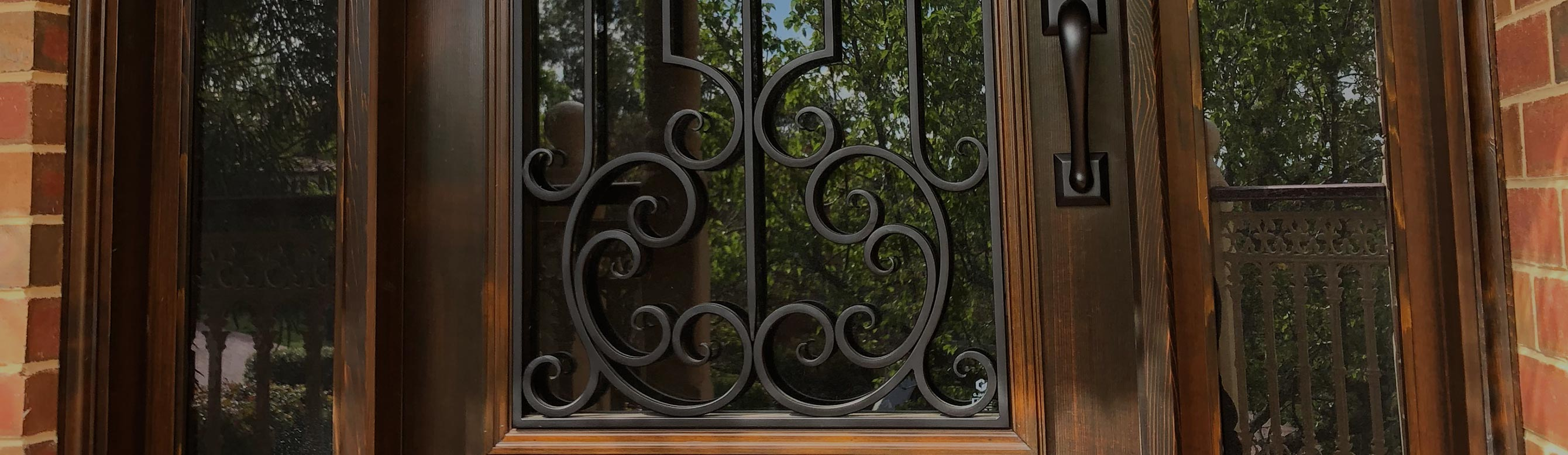 wrought iron doors Melbourne