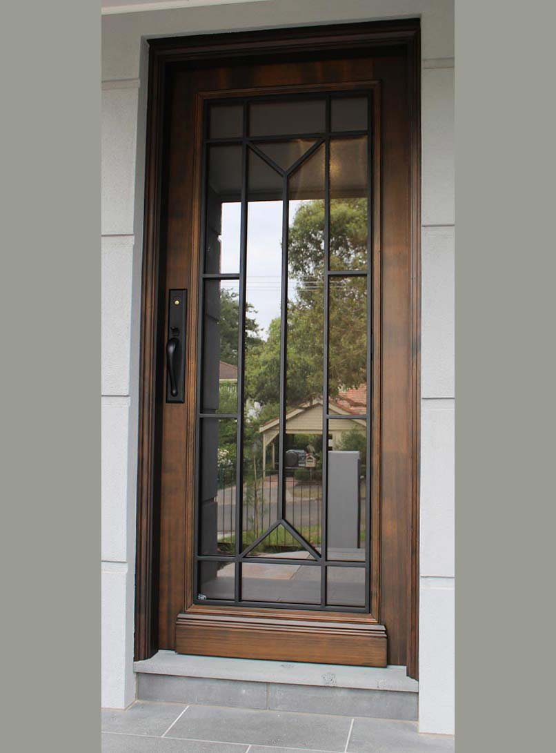 contemporary entrance doors Caulfield, Melbourne
