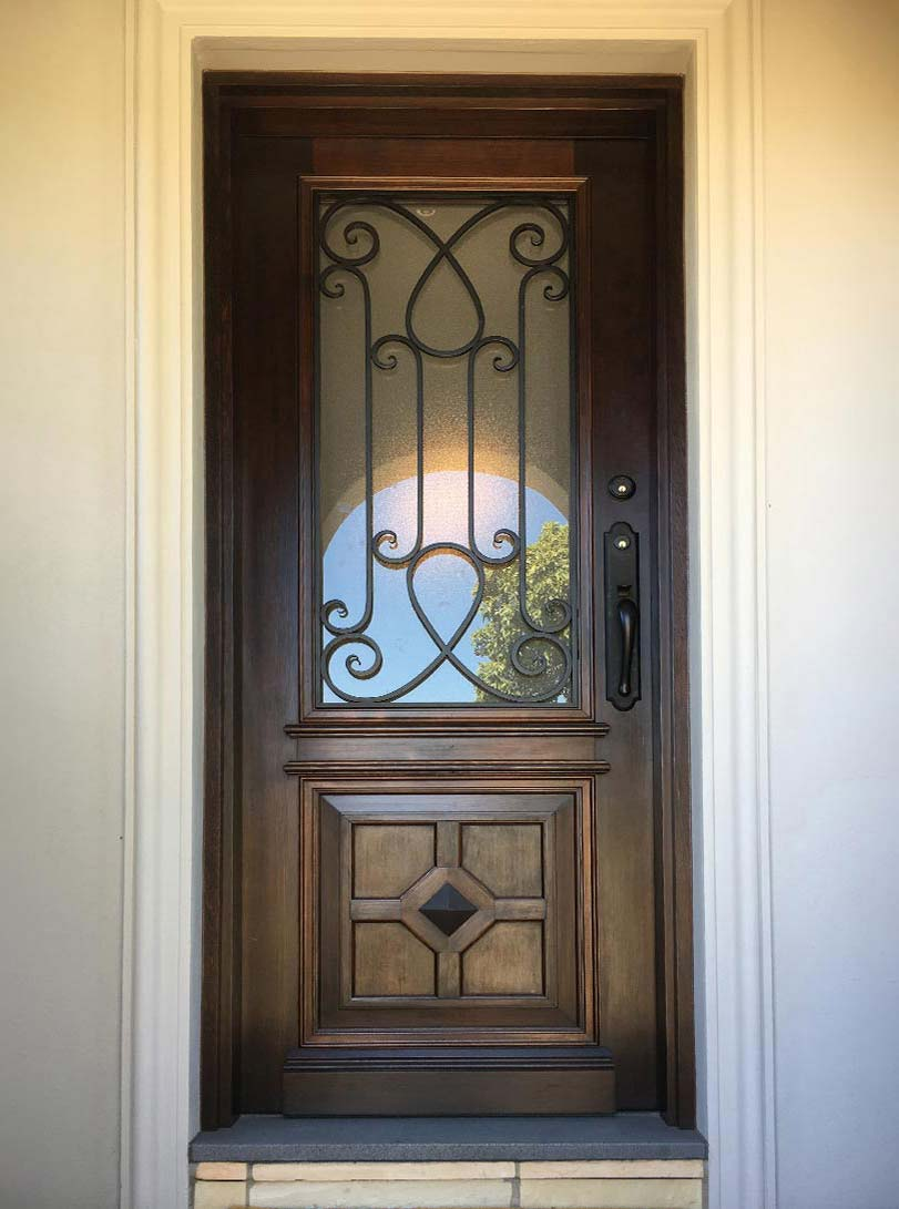 solid timber entrance doors Brighton, Melbourne