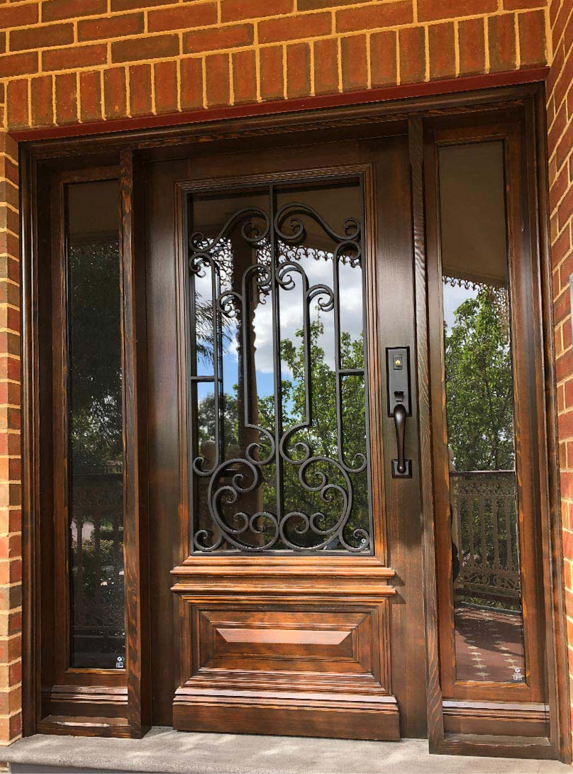 front entrance doors Kew, Melbourne