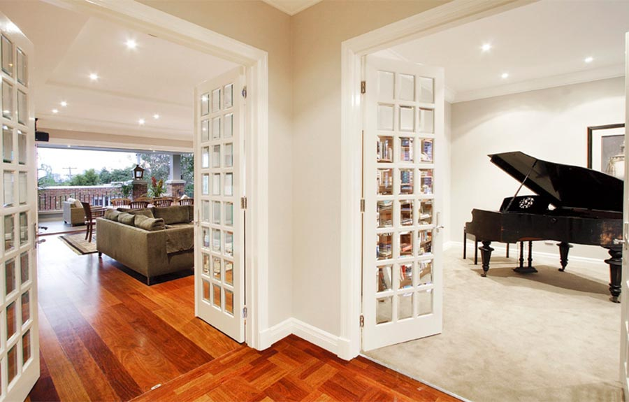 leadlight external french doors melbourne