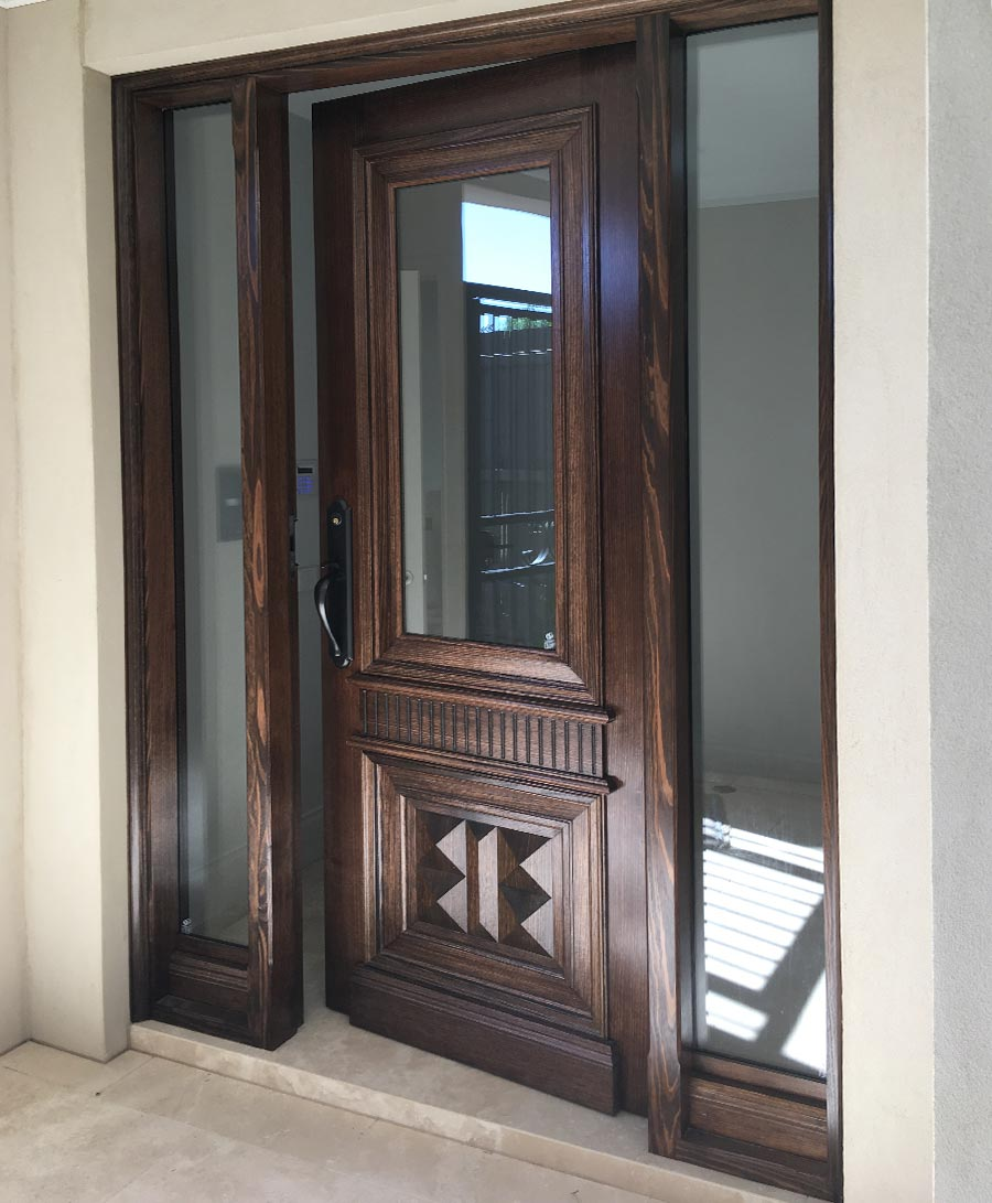 internal glass doors design