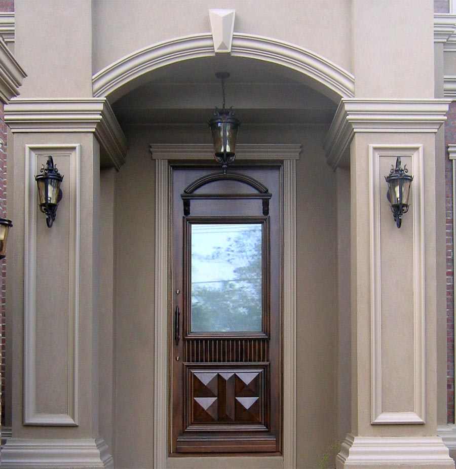 entrance doors with glass image