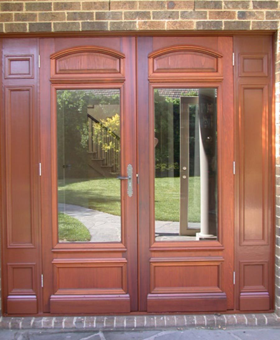entrance doors with glass panels melbourne