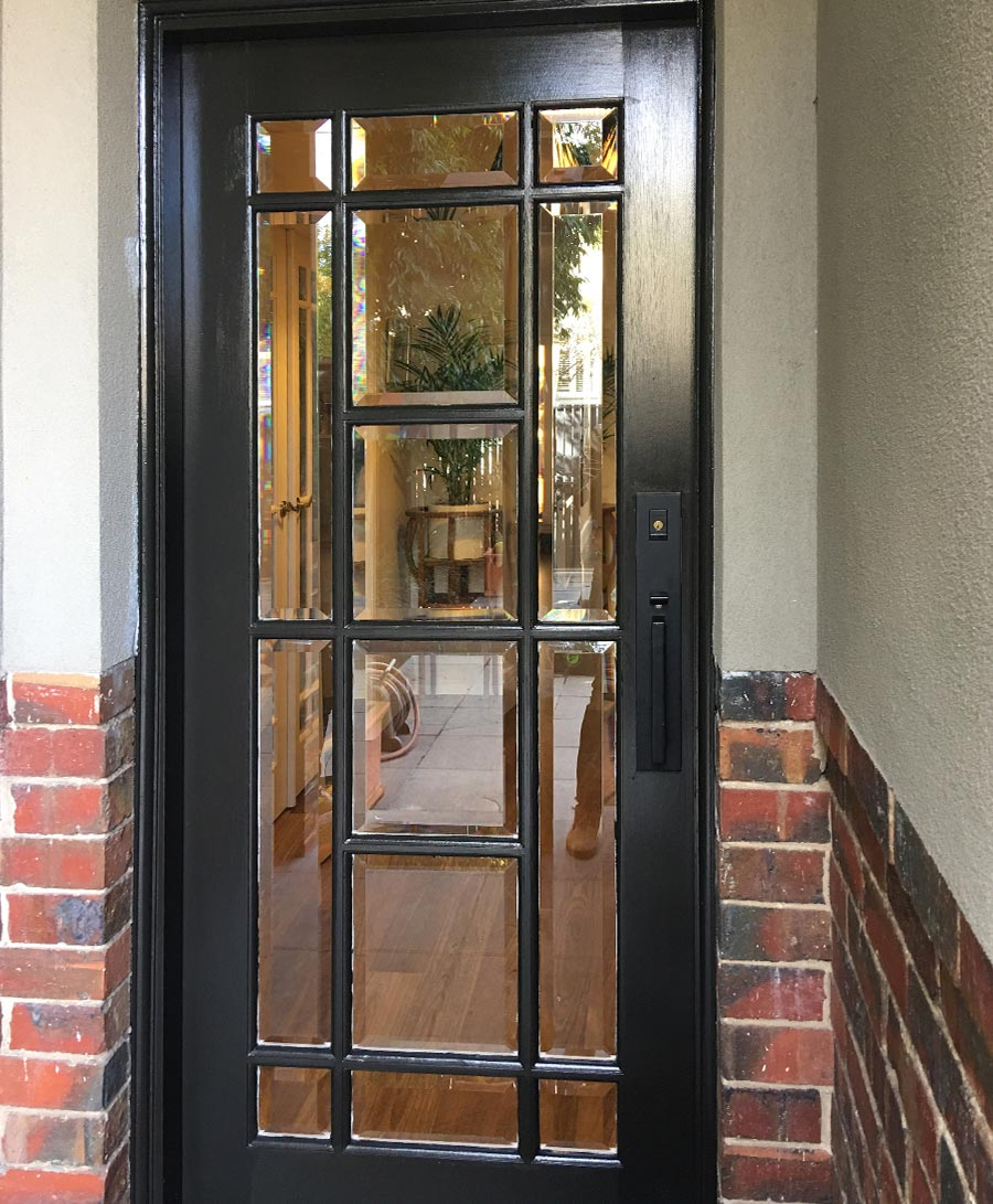 entrance doors with glass melbourne image