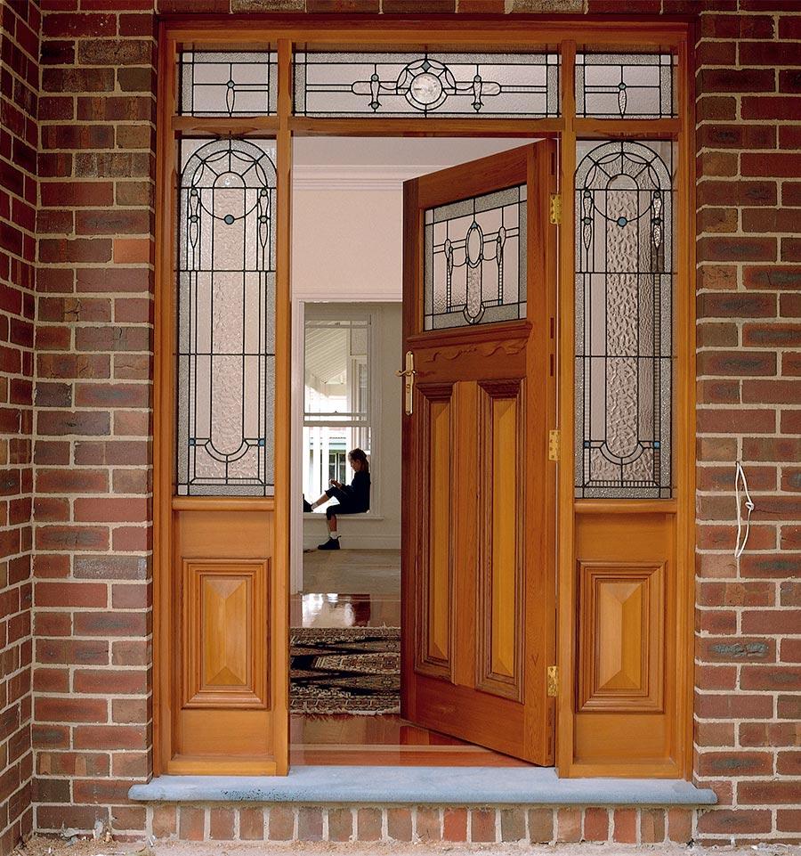 leadlight front doors
