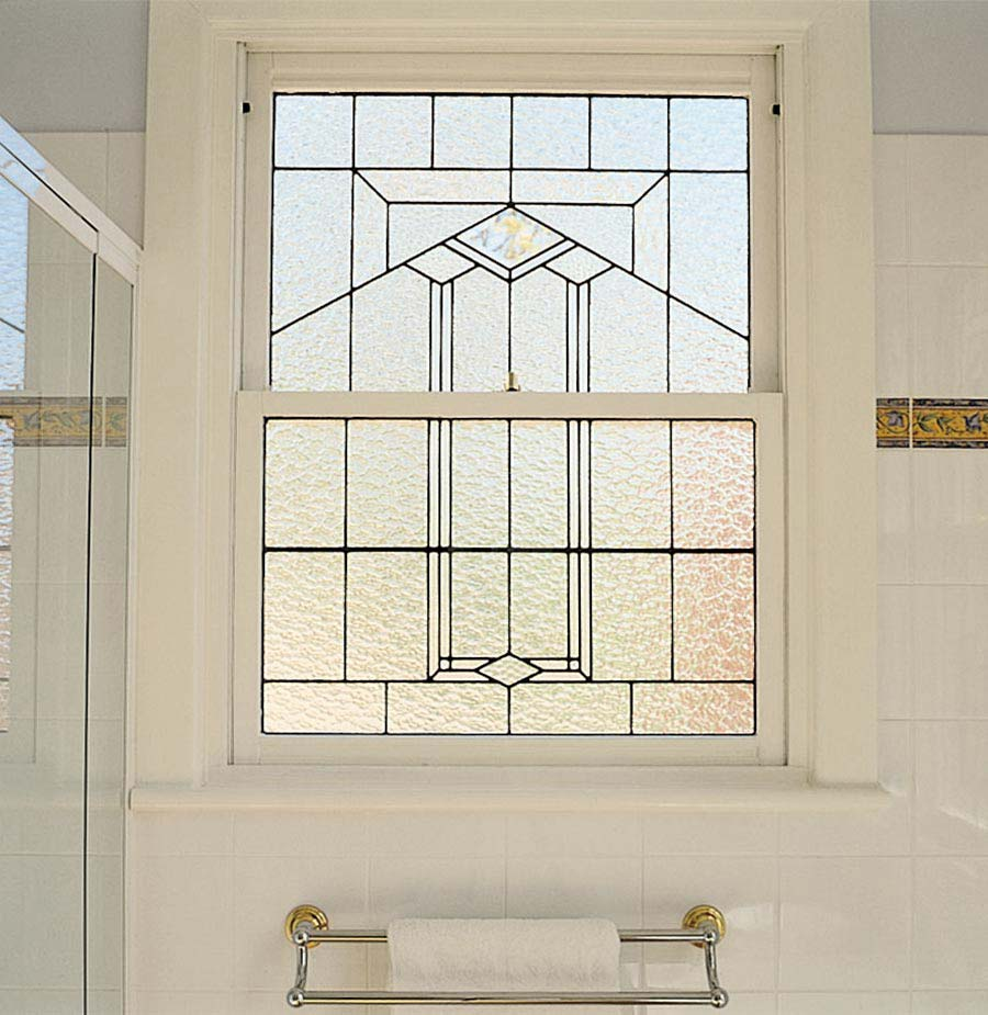 Art Deco leadlight Stained Glass Windows