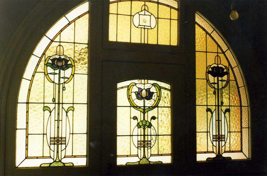 leadlight stained glass window image