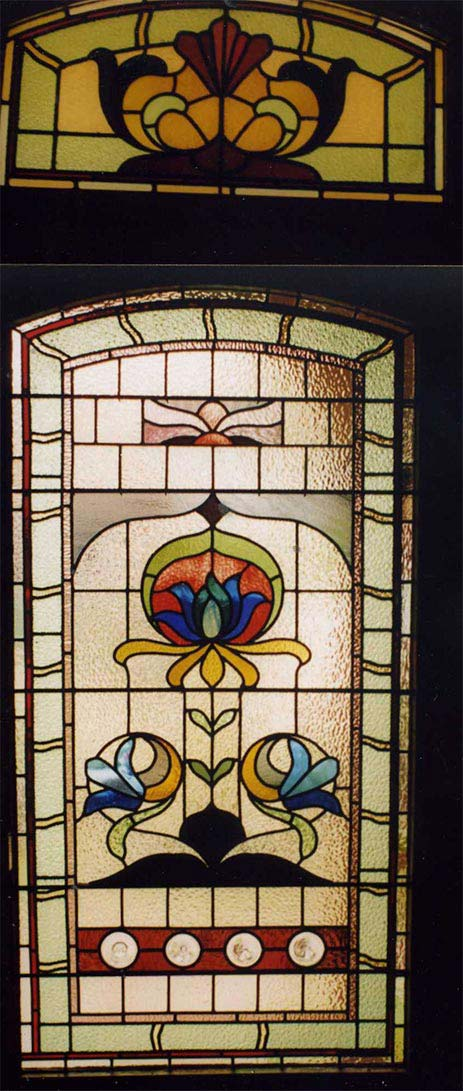 Edwardian Stained Glass Windows Melbourne