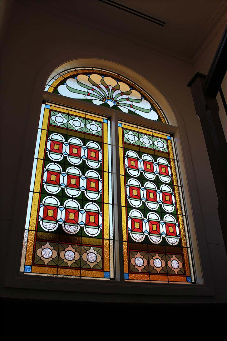 Victorian leadlight window design