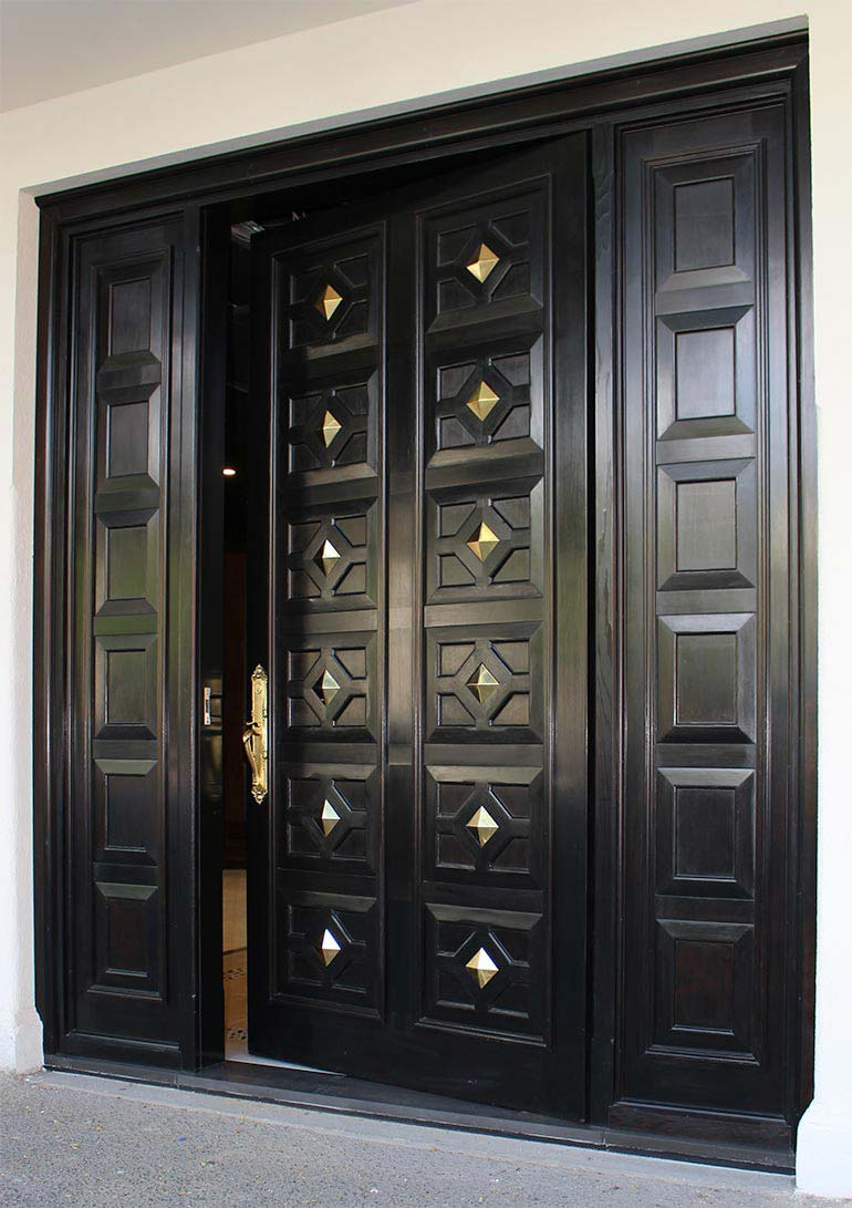 pivot timber doors