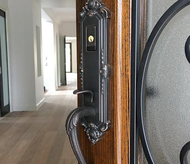 Baldwin Evolved keyless door locks