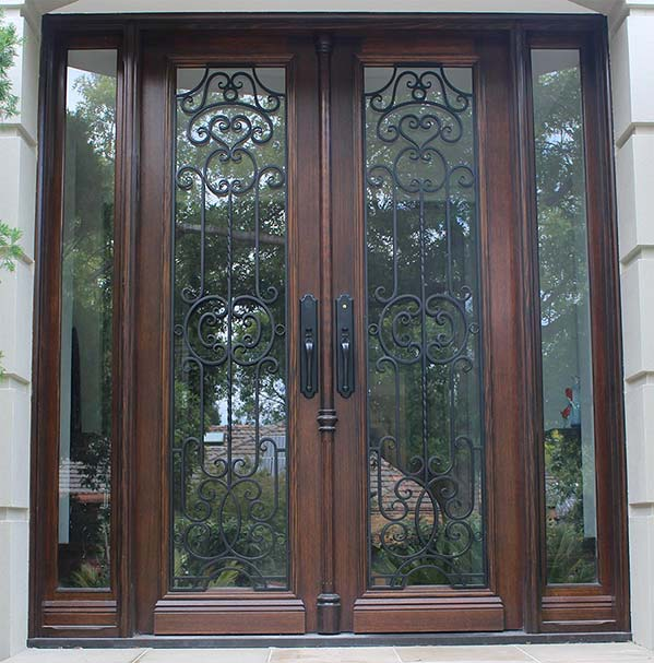 custom made wrought iron gates melbourne