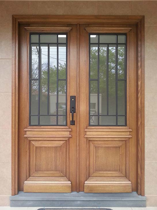 wrought iron doors design